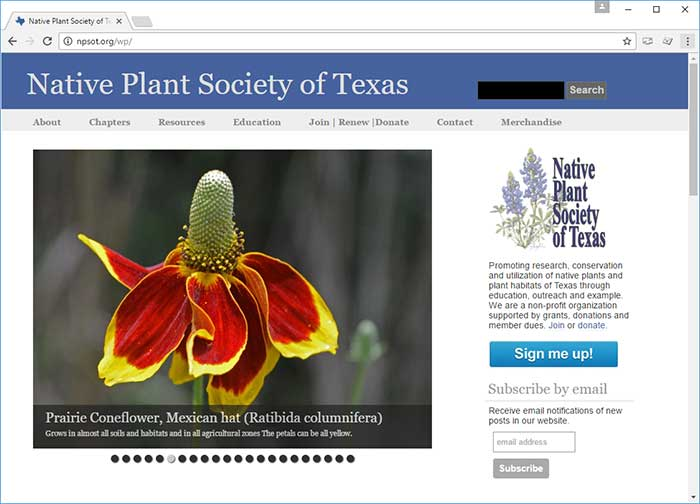 Native Plant Society of Texas