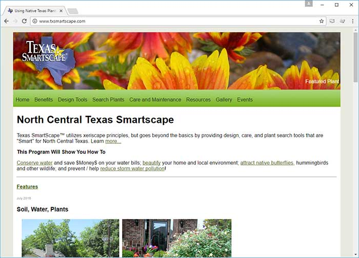 North Central Texas Smartscape