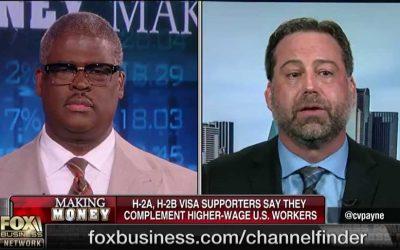 Earthworks president Chris Lee clarifies H-2B guest worker visas on Fox Business channel